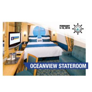 Oceanview w/Balcony Stateroom  /October 22, 2018 Sailing