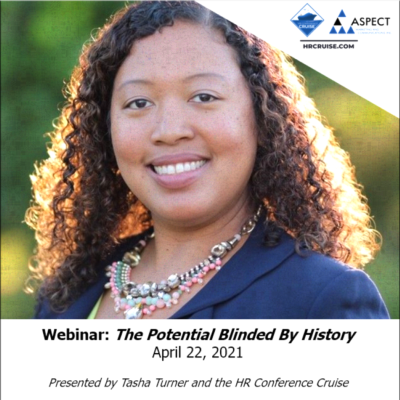 April 22, 2021 Webinar - Speaker Tasha Turner